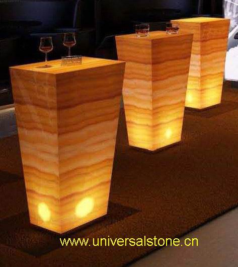 Universalstone Translucent Onyx Glass Backlit Onyx Glass